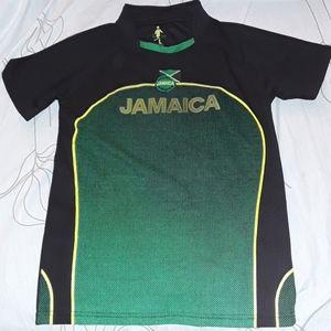 Jamaica Football Federation black shirt